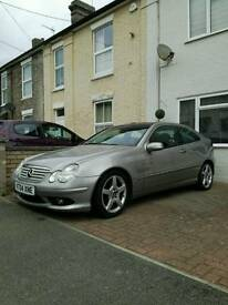 Mercedes C Class coupe (excellent condition for age)