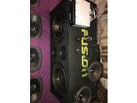 Full car sound system for swop