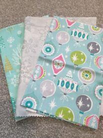 Fabric bundle - christmas designs