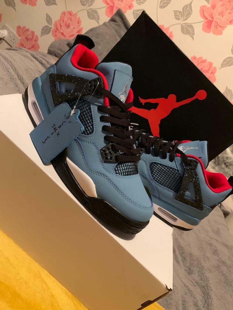 893dffb8016bd4 Jordan 4 Cactus Jack x Travis Scott UK Size 10. Alfreton