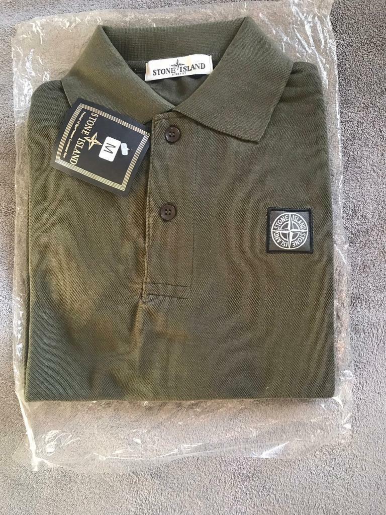 8207c5b1 Stone Island T Shirt Polo Top Men's Designer Fashion M LV MK CC GG
