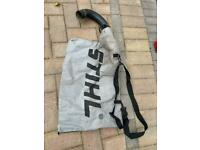 Stihl leaf blower vacuum bag with elbow