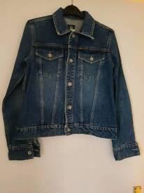 Genuine Ladies DKNY Denim Jacket - Size Medium - VGC