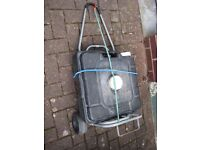 waste water tank with trolley