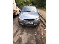 2002Ford Fiesta Freestyle 3dr Hatchback Petrol 1.3L Silver BREAKING FOR SPARES