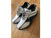 Boys size 1 leather golf shoes