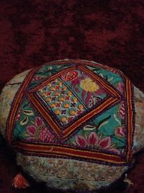 100% Authentic Indian designs. Cusion covers, wall Art etc