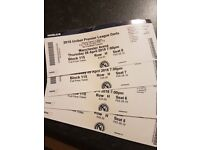 4 x Tickets for the Premier League Darts Mancheter Arena