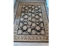 Damask Brown Rug