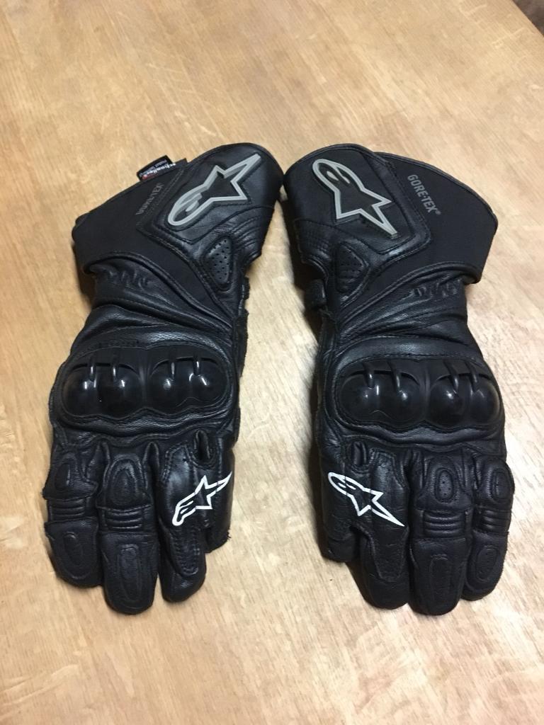 Alpinestars Goretex gloves Medium