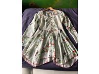 Joe Brown floral blouse top size 10