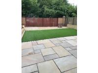 Indian sandstone patio set