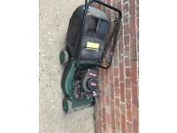 Spare or repair petrol lawn mower