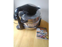 New Halogen Oven with Extender Ring/ Air Fryer