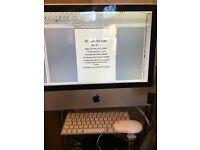 Apple iMac, 20inch 4GB 500GB with wireless keyboard