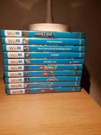 10 Nintendo Wii U Games - Exellent Condition