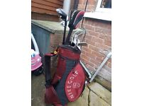 Golf clubs & bag for sale £70 decent set for someone starting off