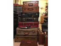 Old/vintage suitcases