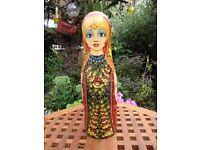 Russian Doll Wine/Spirit Bottle Cover.