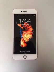 I Phone 6S Plus for sale. 16gb, Rose Gold.