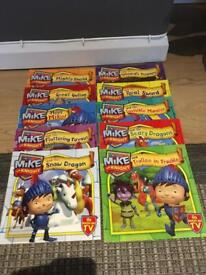 Mike the knight books