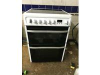 Hotpoint ceramic electric cooker 60 cm very good condition white