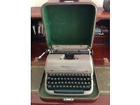 "Reminton Rand ""Quiet-Riter"" 1960's typewriter"