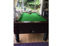 Full size American Pool Table