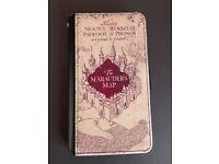 Harry Potter Marauders Map Phone Wallet Case