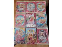 Barbie DVDs - 9 great titles. Plus Lego Friends are Forever DVD. Xmas bundle?