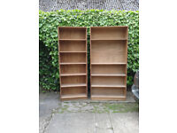 3 Very solid shelving units for sale