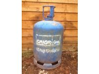 BUTANE 15KG EMPTY GAS BOTTLE £15 COLLECTION ONLY