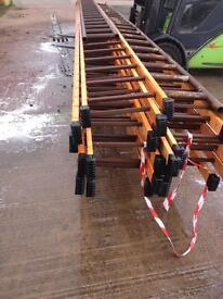 Aluminium ladders 8 metre new , scaffold , gutters etc