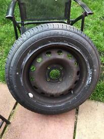 Brand new tyre for Citroen c3