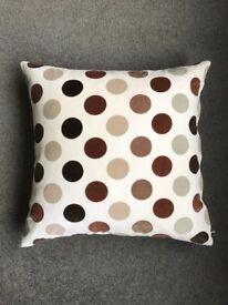 Ikea Brown Spotty Cushion 50cm x 50cm