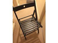 Ikea chair in Black practically brand new!