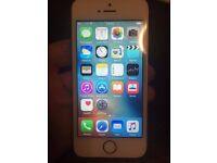 iPhone 5s 16gb Gold & White EE/Orange Sim Locked