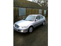 2004 rover 45 impression 2.0 rbo diesel**FULL MOT**lady owner(406 hdi,405,passat tdi,golf tdi,tdci)