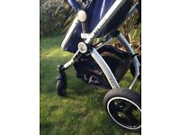 Isafe 2 in 1 pram nearly new