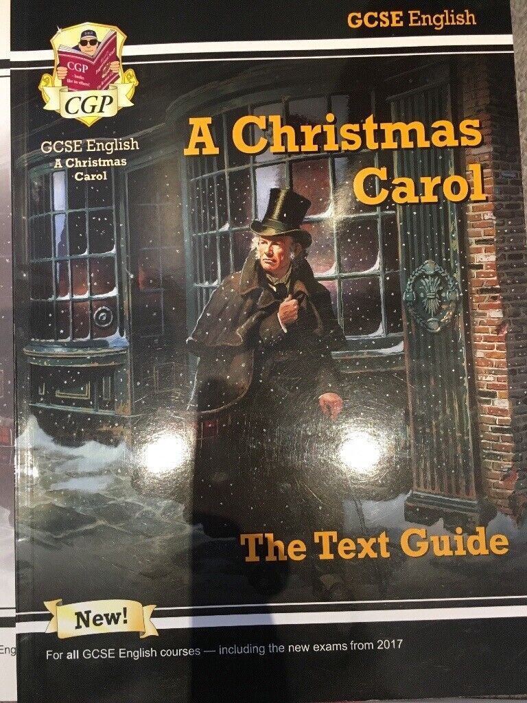 Christmas Carol Text Guide.Gcse English Litrevision Guide Power And Conflict Macbeth A Christmas Carol An Inspector Calls In Poole Dorset Gumtree