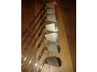 Mizuno MP/52 4- PW Irons . Dynamic Gold Stiff