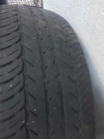 Two wheels / tyres 195/65 R15