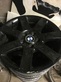Black BMW Alloys (No Tyres!)