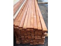 Lath 2x1 22mmx49mm 3m(10ft)£1.65 per length and 3.6m(12ft) £1.98 per length.(treated)