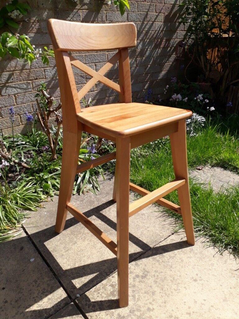 Ikea Wooden Kids Dining Chair Ingolf In Chelmsford Essex