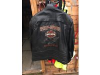 Harley Davidson leather jacket XXL