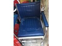 Wheelchair and commode