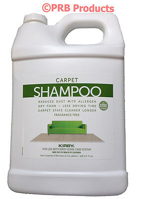 Kirby Vacuum Cleaner Unscented Carpet Rug Shampoo Genuine Allergen Stains Odors Kirby Vacuum Carpet Cleaner