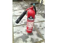 Different sizes fire extinguisher