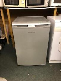 Beko silver fridge